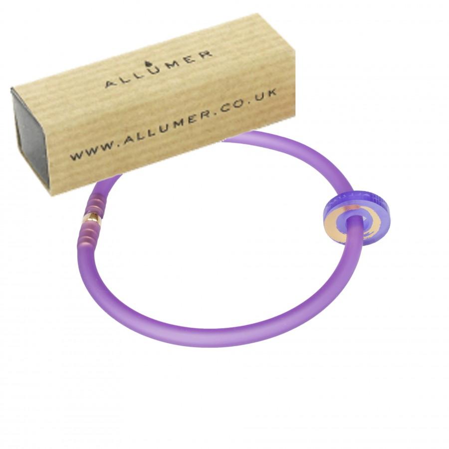 SFS gold leaf bangle sml connector w-box