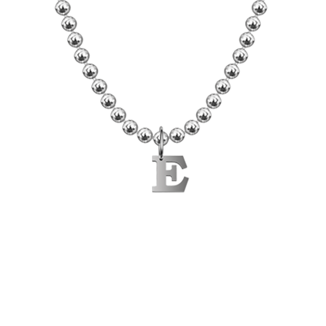 Letter product pic White Gold E